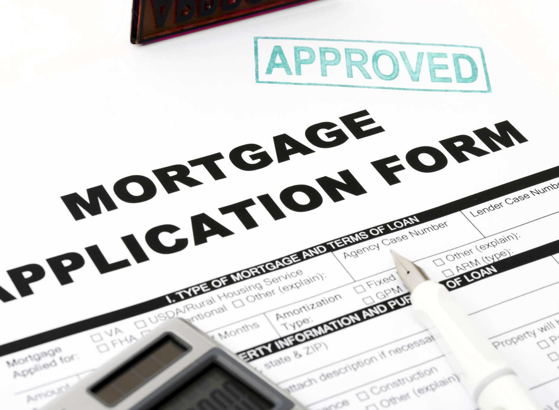 UK mortgage approval